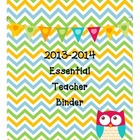 Essential Binder and Calendar Set