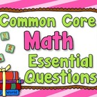 Essential Questions - Math, Grade 5, Common Core (lime, ho