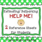 Estimation - Estimating / Ballparking {HELP ME!} Reference