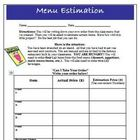 Estimation and Convenient Numbers Activity Common Core Creative