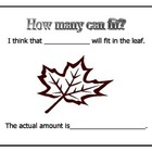 Estimation with a leaf