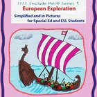 European Exploration in Pictures for Special Ed, ESL and E