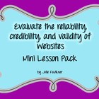 Evaluate the Credibility of Websites/Sources Lesson Plan -