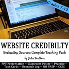 Evaluating the Credibility & Validity of Online Sources Le
