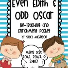 Even Edith & Odd Oscar - Re-Teaching & Enrichment Packet