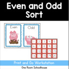 Even and Odd Number Sort