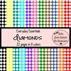 Everyday Essentials: Diamonds Digital Paper Pack