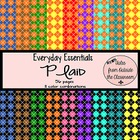 Everyday Essentials: Plaid Digital Paper Pack