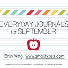 Everyday Journals for September