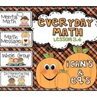 Everyday Math 2nd grade Lesson 3.4 Exploring Numbers, Time