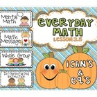 Everyday Math 2nd grade Lesson 3.5 Data Day