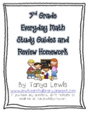 Everyday Math - 3rd Grade - Test Study Guides and Homework