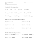 Everyday Math 4th grade Unit 3 Study Guide