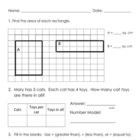 Everyday Math, Grade 3, Unit 4 Review Worksheet