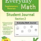Everyday Math Journal (Kindergarten): Section 2