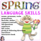 Everything Spring for Special Education, Autism, Speech Therapy
