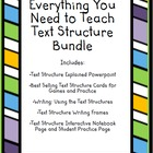 Everything You Need to Teach Text Structure Bundle