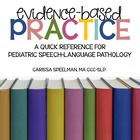 Evidence-Based Practice Quick Reference: Speech-Language P