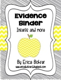 Evidence Binder Dividers, Inserts, Logs, and More - Yellow