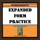 Expanded Form Worksheet for Practice