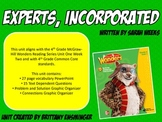 Experts, Incorporated - 4th Grade McGraw Hill Wonders Series