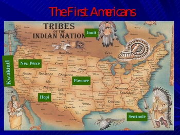 Explore the first Americans/Native American Tribes
