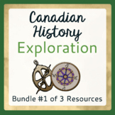Explorers to Canada - Bundle  #1 of 3 Items