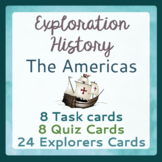 Explorers to the Americas - 24 Explorer Cards, 8 Task Card