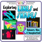 Exploring Lines and Shapes - Five Math-Integrated Art Lessons
