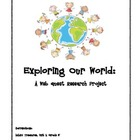 Exploring Our World - A Web Quest Research Project