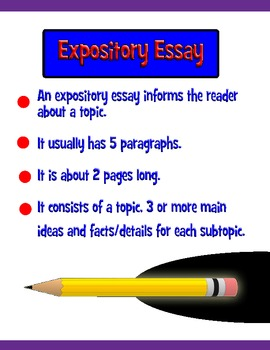 Writing an informative essay powerpoint