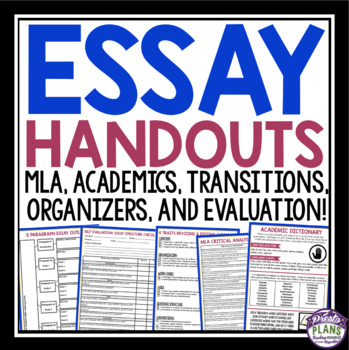 Essay Writing Resources - Mrs. Duda's English Class