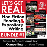 Expository, Non-Fiction Lessons on Modern Issues: Bundle o