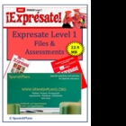 Expresate Level 1 File Pack 23 MB on CD