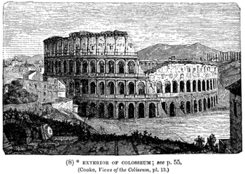 Exterior of the Colosseum / Coliseum #2