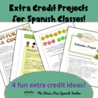 Extra Credit Ideas for Spanish Classes! other foreign lang