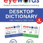 Eyewords Desktop Wordwall/ Personal Dictionary, Words 1-100