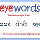 Eyewords Multisensory Sight Word Powerpoint Presentation