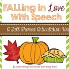 FALLing in Love with Speech {A Fall Themed Articulation Unit}
