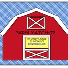 FARM MATCH-UP (A Kindergarten I Spy Activity)