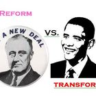 FDR and Obama Deficit Stimulus Spending Comparison