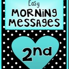 FEBRUARY - Easy Morning Messages - 2nd Grade