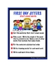 FIRST DAY JITTERS BOOK COMPANION activities, games, and centers