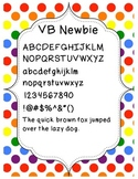 FONT FREEBIE - VB Newbie (Personal & Commercial Use)