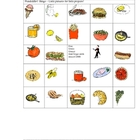 FOOD BINGO PAGES 3-4