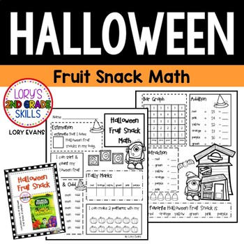 FOOD MATH - Halloween Fruit Snack Fun
