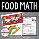 FOOD MATH - Skittle Math Fun