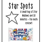 FOOD MATH - Star Spots - Graphing Review