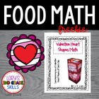FOOD MATH - Valentine's Day Fruit Snack Fun