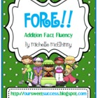 FORE!!  Addition Fact Fluency {Common Core Based}